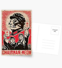 Chairman Meow - Kittens of the world unite.  Postcards
