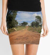 An Aussie Rural Driveway Mini Skirt