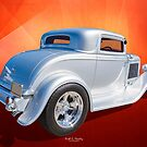32 Three Window Coupe by Keith Hawley