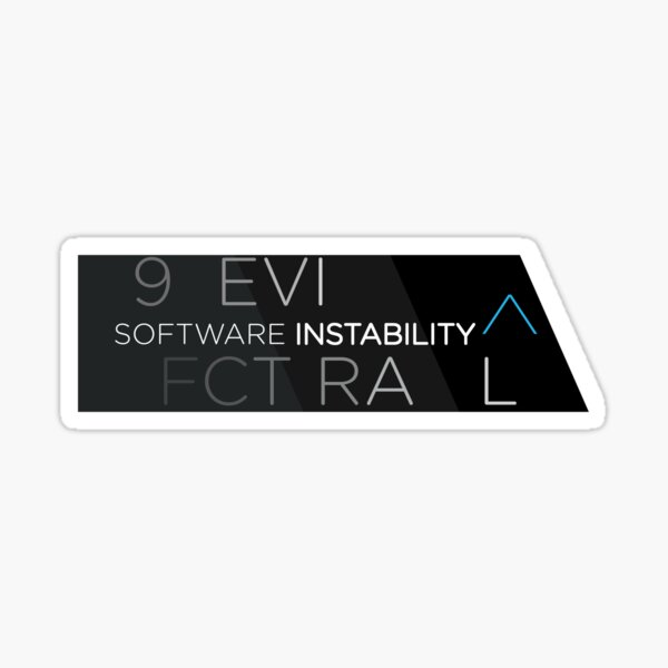 Software Instability ^ Sticker