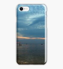 Lake in the evening. iPhone Case/Skin