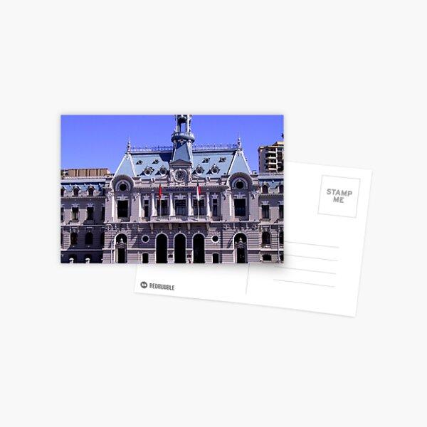 Naval Building Postcard