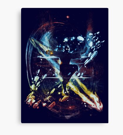 dancing with elements Canvas Print