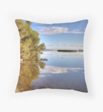 Lake Joondalup Throw Pillow