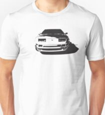 Nissan 300zx Fairlady Z Z32 Front End Illustration Unisex T-Shirt