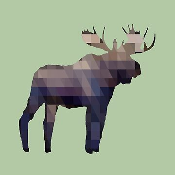 The Moose by artsandherbs