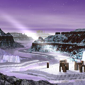 Ice Age Cometh by Sazzart