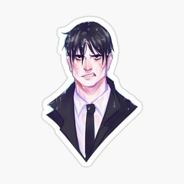 WET KAZ Sticker