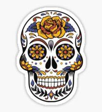 Mystical Skull Sticker