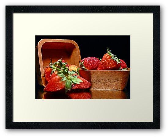 Strawberries #1 by ikshvaku