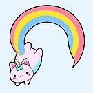 «Kawaii orgulloso arco iris cattycorn» de EuGeniaArt