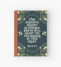 PSALM 37:4 Hardcover Journal