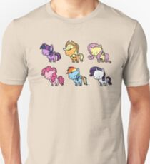 MLP Mane6 chibi Unisex T-Shirt