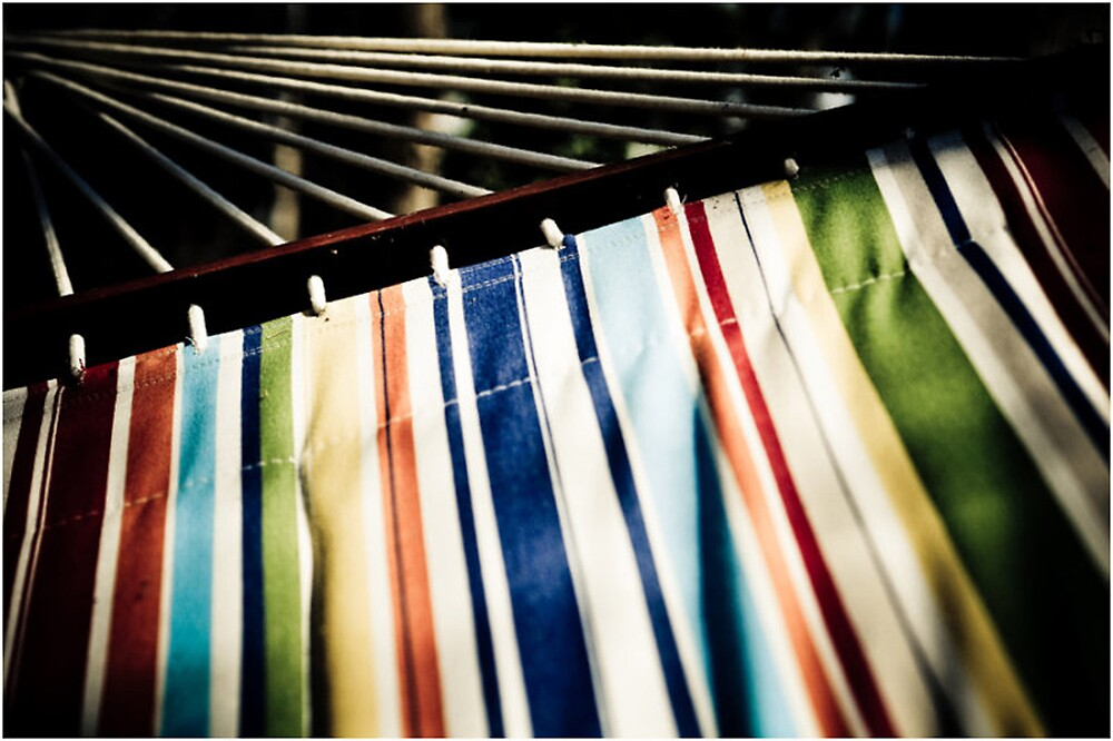 Relaxing Stripes by Faye White
