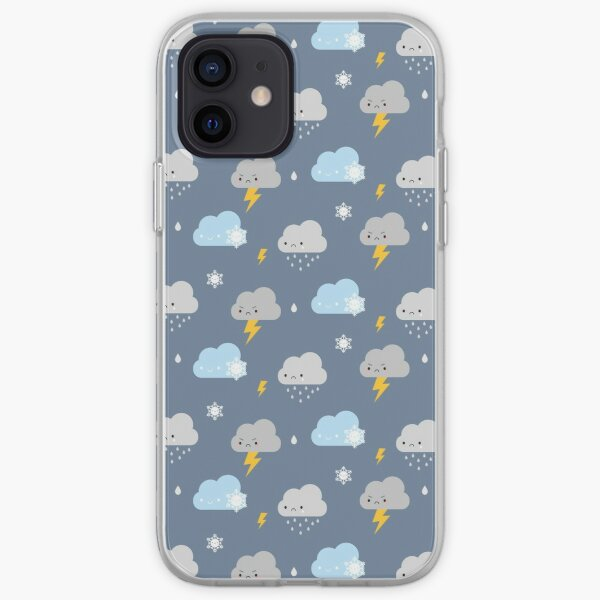 Kawaii Stormy Weather iPhone Soft Case