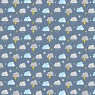 Kawaii Stormy Weather by Marceline Smith