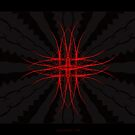 """""""The Red""""  - Fractal Art by Leah McNeir"""