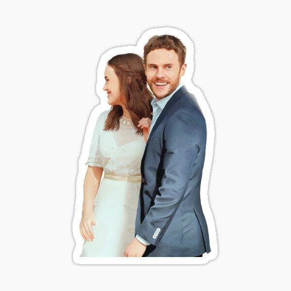 Fitzsimmons - Wedding Portrait Sticker