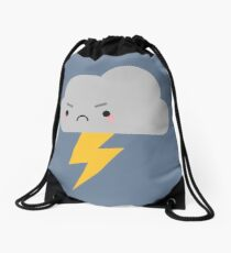 Kawaii Thunder & Lightning Cloud Drawstring Bag