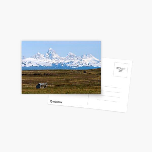 The Tetons from Idaho Postcard