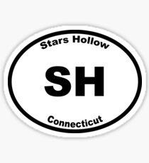 Stars Hollow - Euro Style Car Sticker Sticker