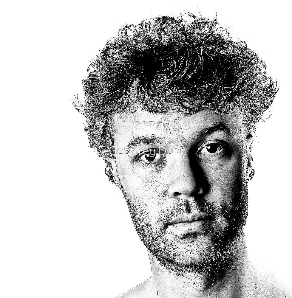 ...self portrait... by Geoffrey Dunn