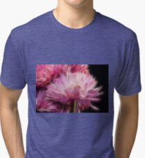 Flower fractal Tri-blend T-Shirt