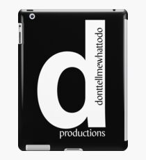 D Productions iPad Case/Skin