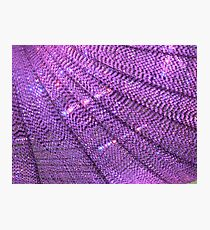 Purple Bling Photographic Print