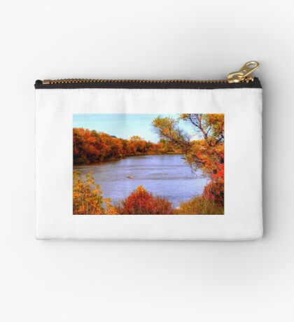 Autumn on the Assiniboine Studio Pouch