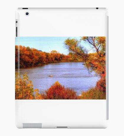 Autumn on the Assiniboine iPad Case/Skin