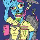 «Cat Zombie UFO» de jarhumor