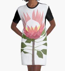 King Protea Graphic T-Shirt Dress