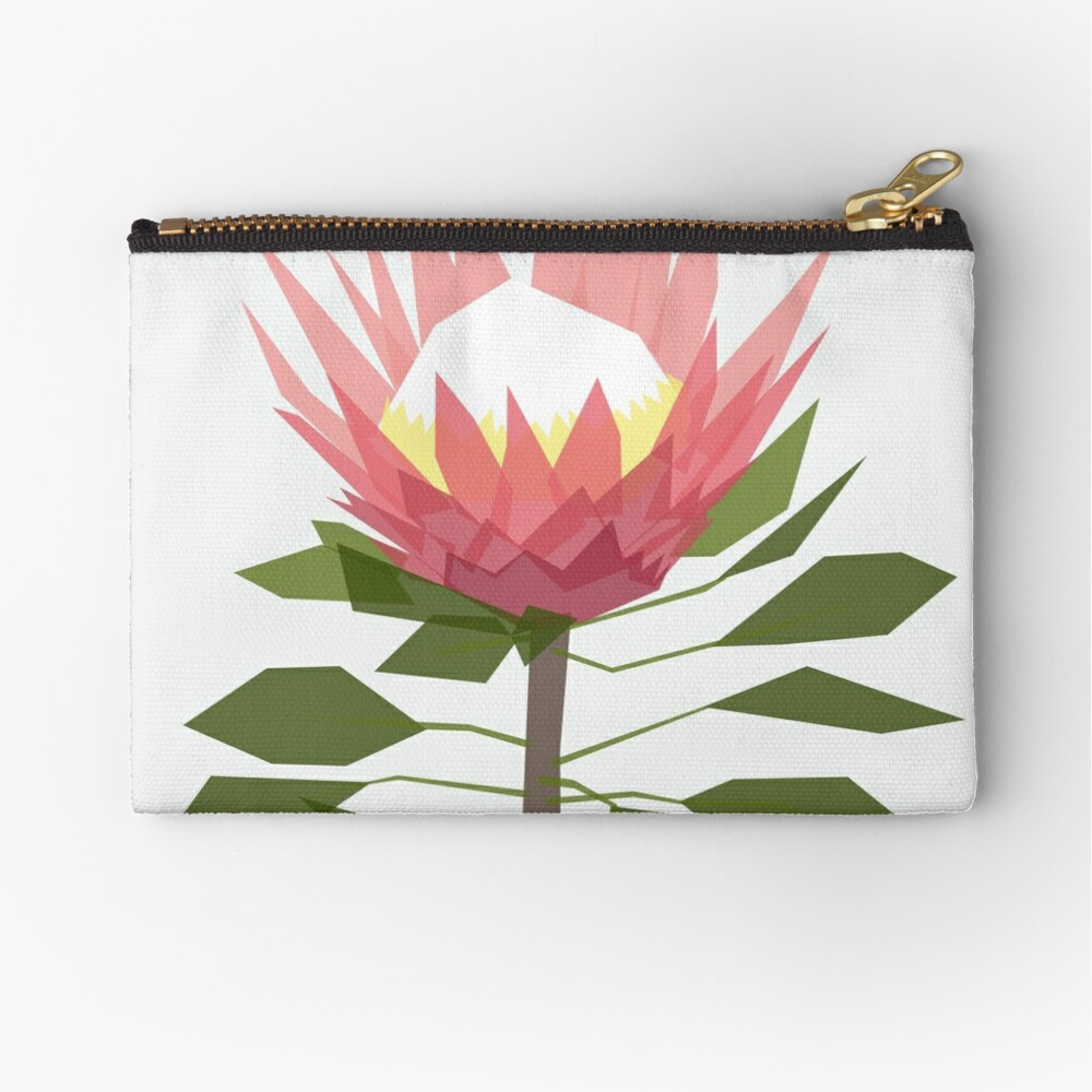 King Protea Zipper Pouch