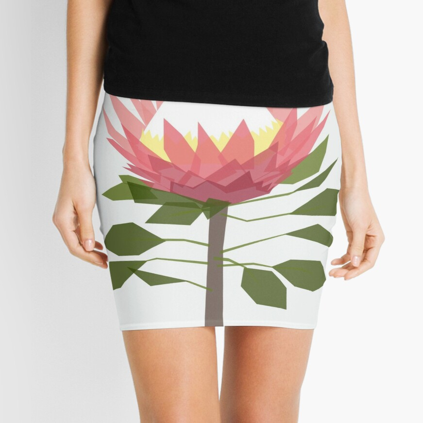 King Protea Mini Skirt