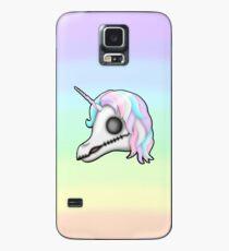 My Little Dead Unicorn   Unicorn Skull   Pastel Rainbow Case/Skin for Samsung Galaxy