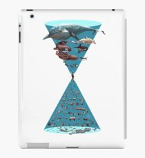 Save the oceans iPad Case/Skin