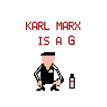 Karl Marx Is G by Regurgitate