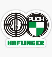 Steyr Puch Haflinger Sticker