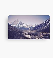 Snowy Mountain  Canvas Print