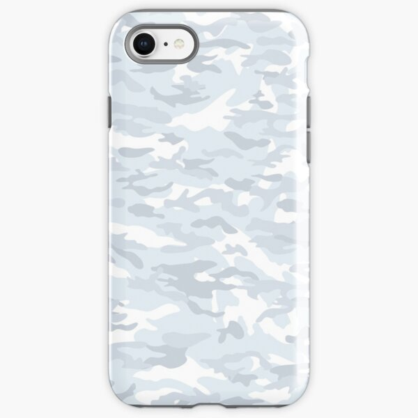 WHITE CAMOUFLAGE IN TOP QUALITY, BY SUBGIRL iPhone Tough Case