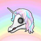 My Little Dead Unicorn | Unicorn Skull | Pastel Rainbow by LolitasAdorned