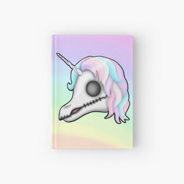 My Little Dead Unicorn | Unicorn Skull | Pastel Rainbow Hardcover Journal