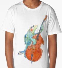 Famous underwater bass player Long T-Shirt