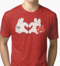 Mickey & Minnie Love Tri-blend T-Shirt