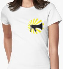 Electro Reggae - Light & Sound Women's Fitted T-Shirt