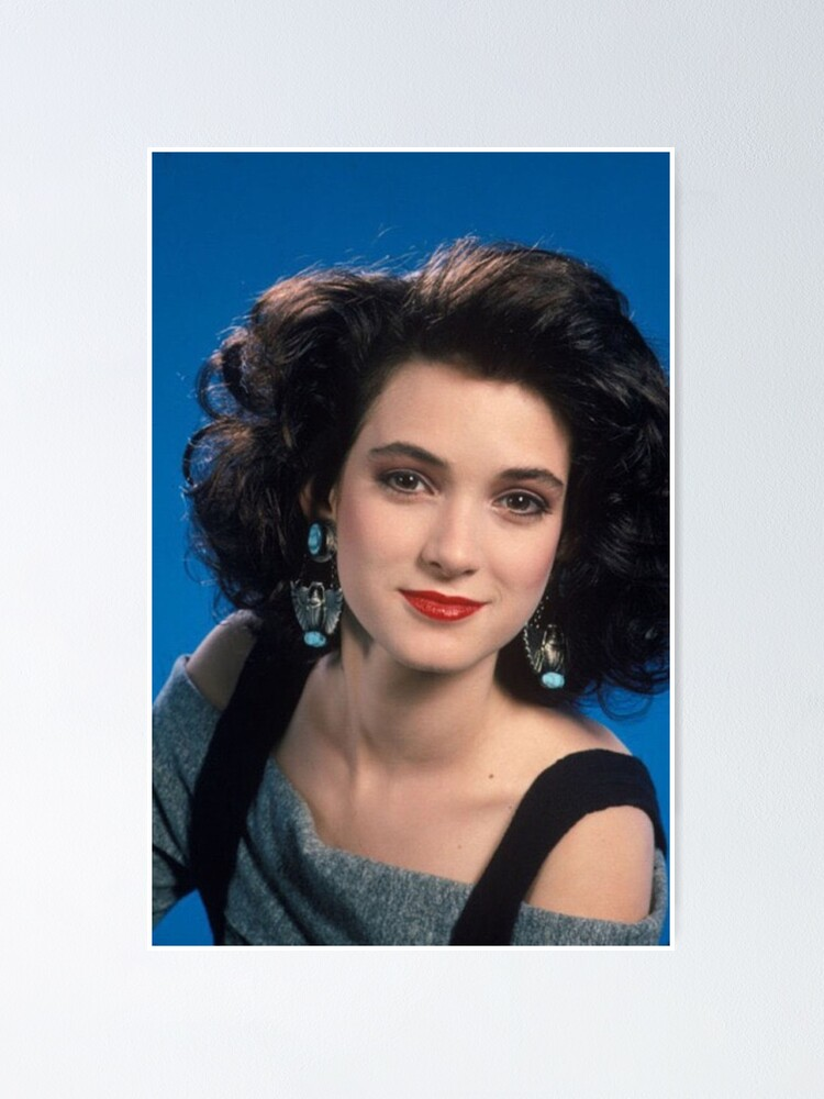 Alternate view of Winona Ryder - Young Poster