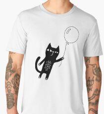 Flying Cat Men's Premium T-Shirt