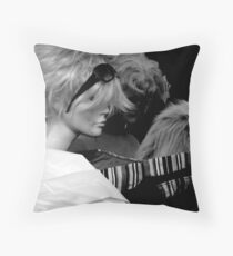 Wigs Throw Pillow