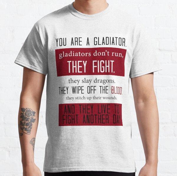 Gladiateurs en costumes T-shirt classique